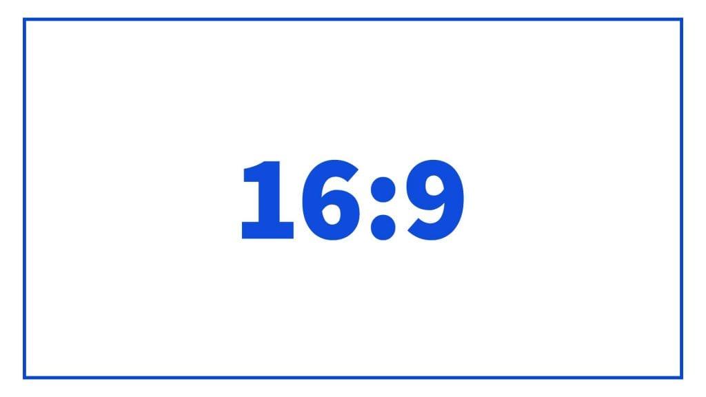 תמונה ביחס של 16 על 9