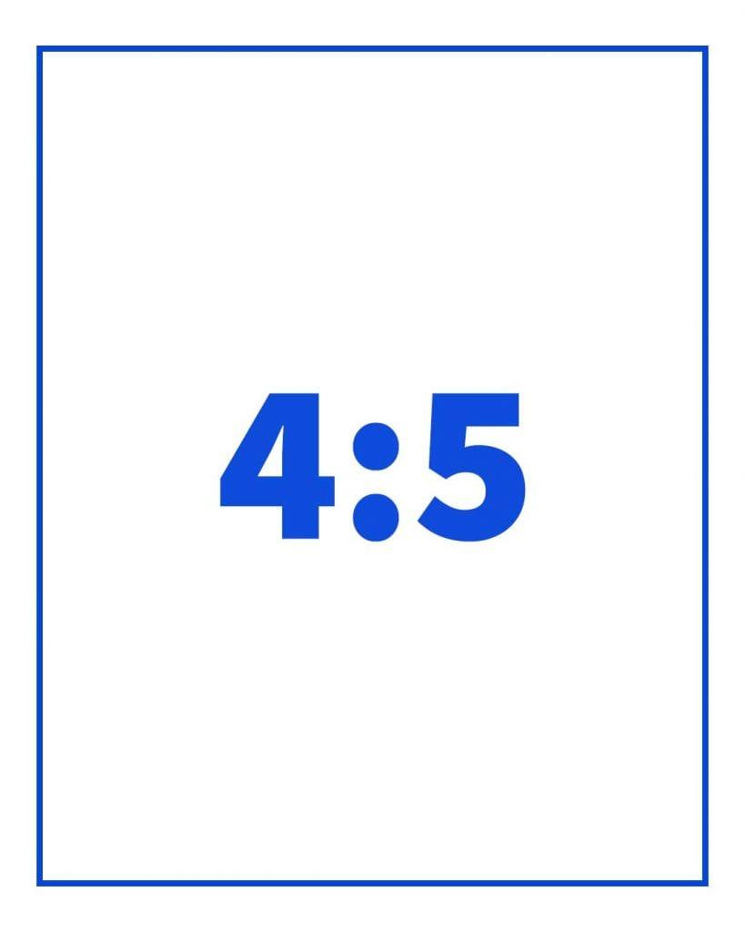 תמונה ביחס של 4:5